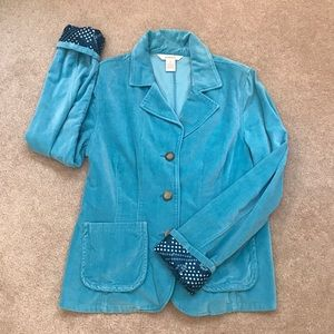 Sundance velvet blazer/jacket
